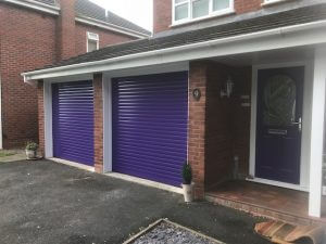 Custom Garage Door After