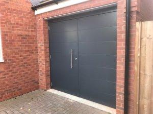 After the Split Garage Door Installation