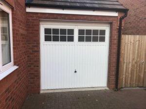 Before the Split Garage Door Installation